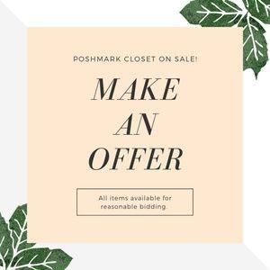 Posh Closet Sale!